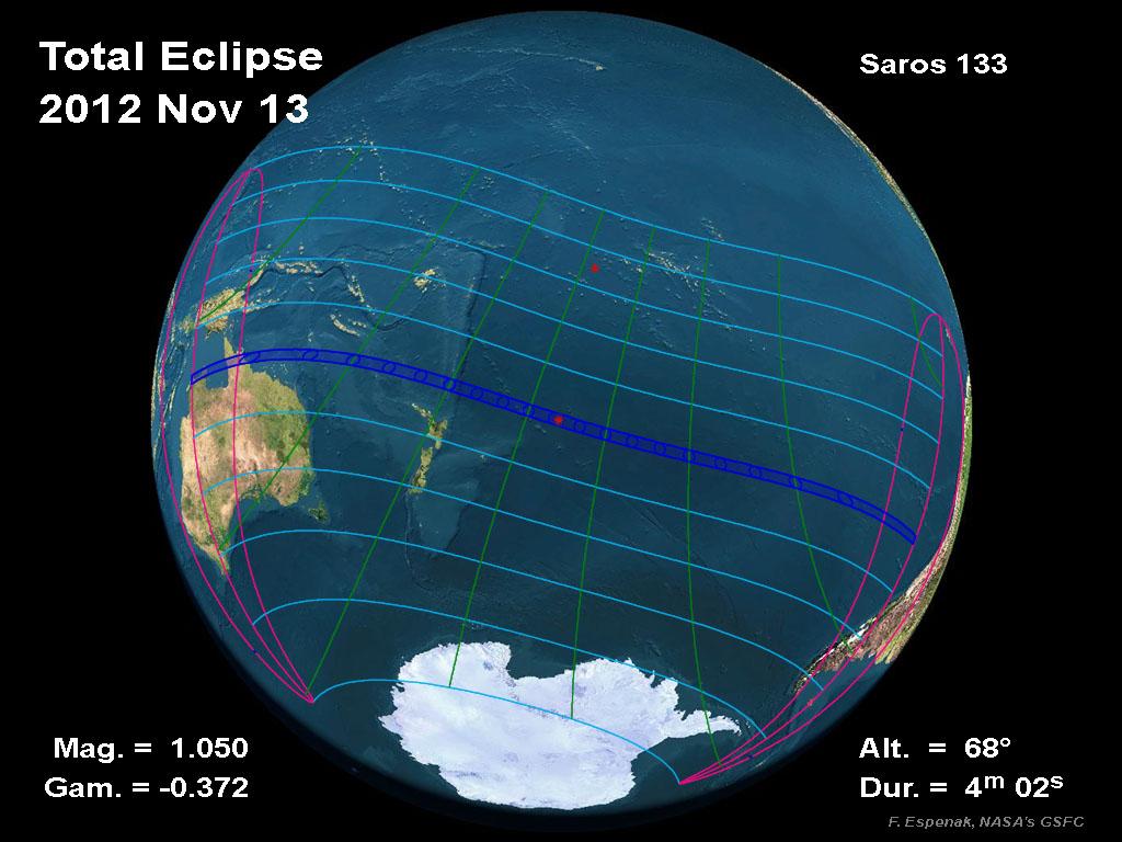 Cartoon solar eclipse 2012 cartoon - Nasa Total Solar Eclipse Of 2012 November 13