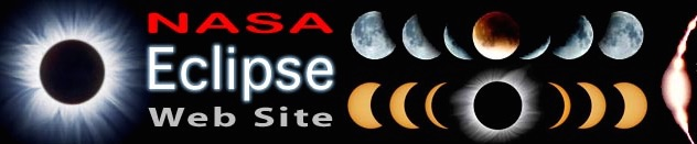 Sitio web de la NASA Eclipse